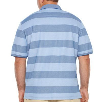 IZOD Quick Dry Short Sleeve Knit Polo Shirt - Big and Tall