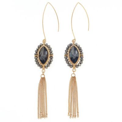 Bijoux Bar Gray Drop Earrings