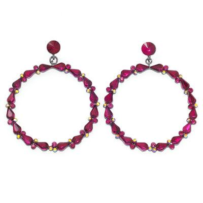 Bijoux Bar Pink Drop Earrings