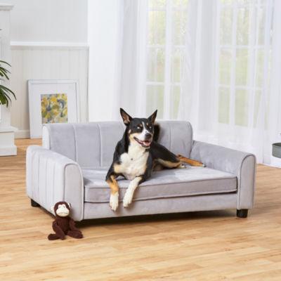 Enchanted Home Pet Ludlow Pet Sofa Grey