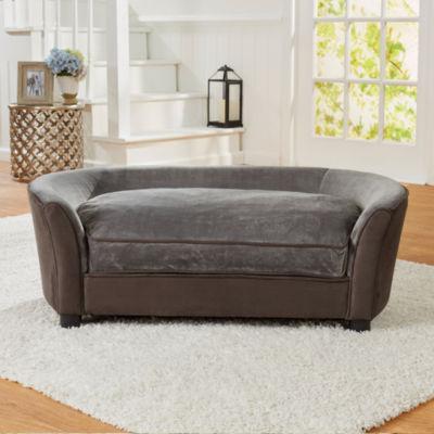 Enchanted Home Pet Panache Sofa Dark Grey