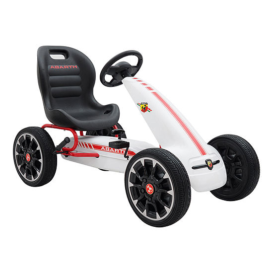 Blazin Wheels Abarth Peddle Go Kart Ride On