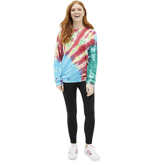 Shop the Look: Flirtitude Tie-Dye Sweatshirt and Legging