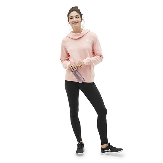 Shop the Look: Nike Coral Cowl Neck Hoodie with Legging