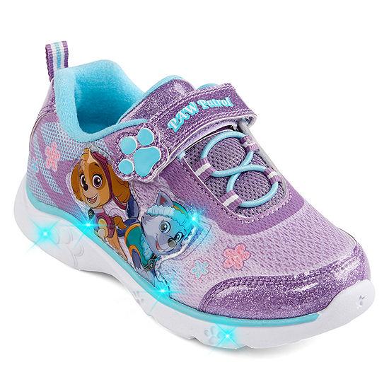 Nickelodeon Paw Patrol Athletic Toddler Girls Hook and Loop Sneakers