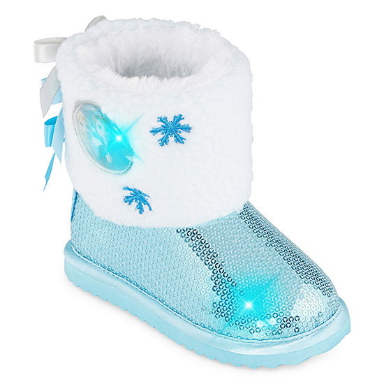 Disney Collection Toddler Girls Disney'S Frozen 2 Toddler Girls Winter Boot Insulated Winter Boots Flat Heel