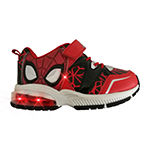 Marvel Spiderman Toddler Boys Hook and Loop Sneakers