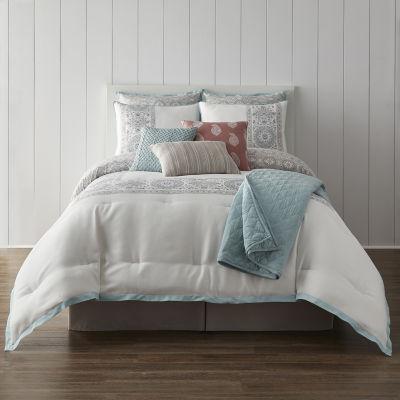 JCPenney Home Aurelia 10-pc. Reversible Comforter Set