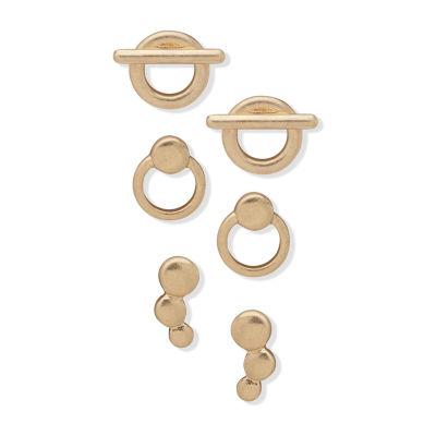 a.n.a 3 Pair Earring Set