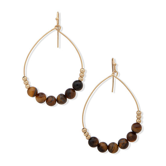 a.n.a Beaded Drop Earrings