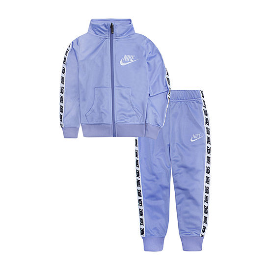 Nike Little Girls 2-pc. Track Suit