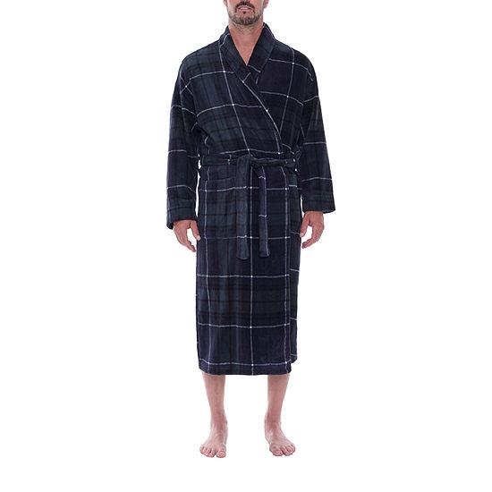 Residence Men'S Long Sleeve Robe-Tall