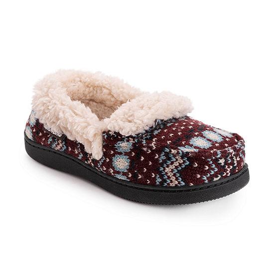 Muk Luks Anais Moccasin Womens Slip-On Slippers