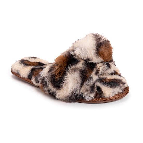 Muk Luks Bardot Womens Slip-On Slippers