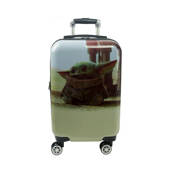 Ful Baby Yoda Star Wars 21 Inch Hardside Lightweight Luggage