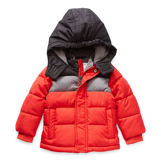 Okie Dokie Baby Boys Heavyweight Puffer Jacket