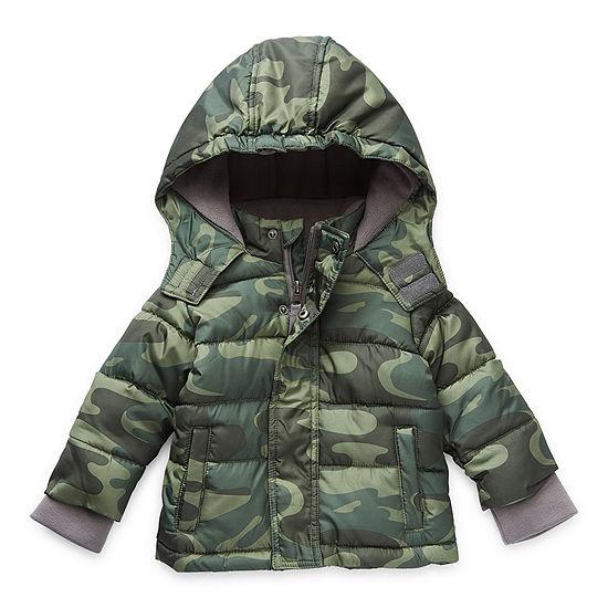 Okie Dokie Baby Boys Midweight Puffer Jacket
