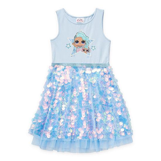 LOL Surprise! Little & Big Girls Sleeveless LOL Tutu Dress