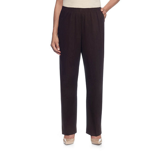 Alfred Dunner® Twill Pull-On Pants