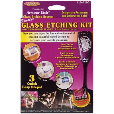 Armour Etch® Glass Etching Starter Kit