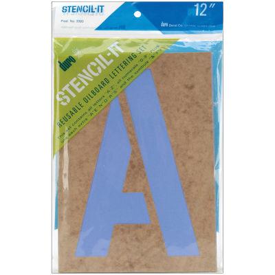 """Stencil-It 12"""" Reusable Lettering Set"""