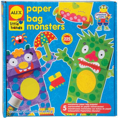ALEX TOYS® Paper Bag Monsters Kit