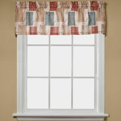Saturday Knight Rod-Pocket Kitchen Valance