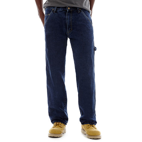 Stanley® Flannel-Lined Carpenter Jeans