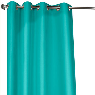 Gazebo Solid Grommet-Top Outdoor Curtain Panel