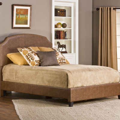 Houston Upholstered Nail Head Trim Bed