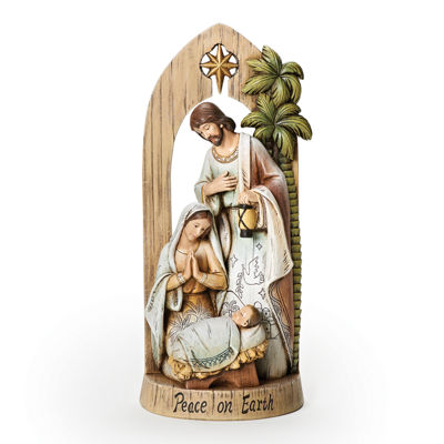 Joseph's Studio Peace on Earth Holy Family Under Arch Nativity Figurine