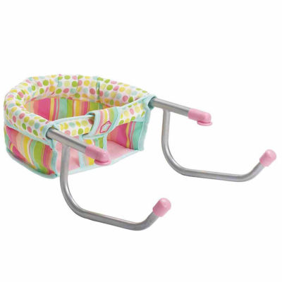 "Manhattan Toy Baby Stella - Time to Eat Table Chair for 15"" Dolls"""