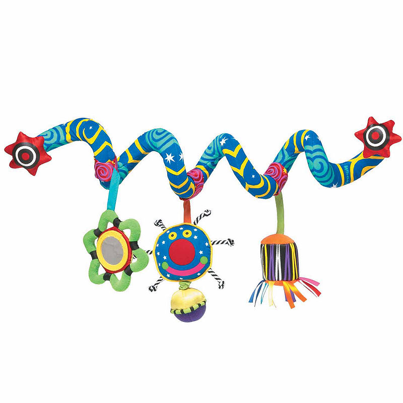 Manhattan Toy Whoozit Activity Spiral Baby Stimulation Toy, Unisex, Multi-colored, One Size