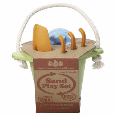 Green Toys Sand Play Set Green