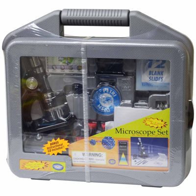 Edutoys Microscope Set Wcarrying Case