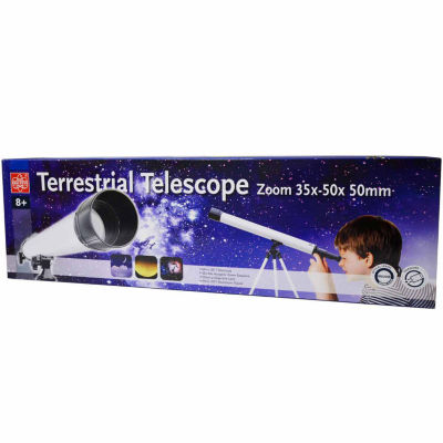 EDU-Toys 35x - 50x 50mm Zoom Terrestrial Telescope
