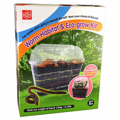 Edutoys Worm Habitat