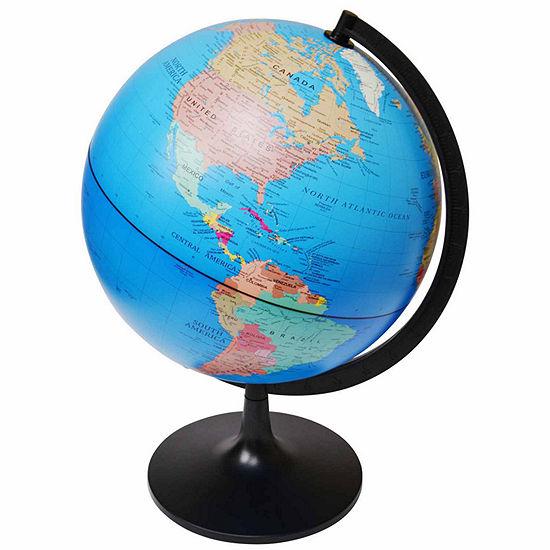 11in Political Globe
