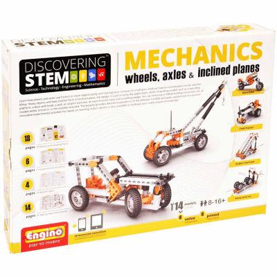 Stem Mechanics, Wheels, Axles & Inclines - 14-Pc. Building Set