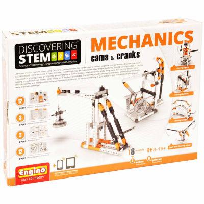 Engino Stem Mechanics Cams & Cranks 8-Pc. Building Set