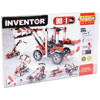 Engino Inventor 90 Motorized Models- 92-Pc. Building Set