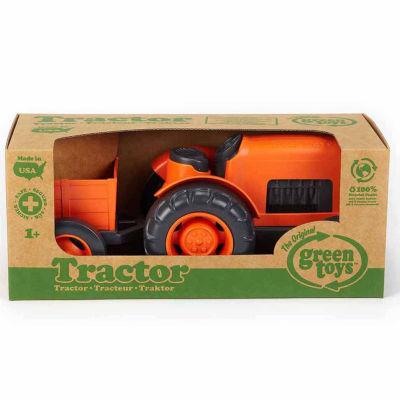 Green Toys Farm Tractor (Orange)