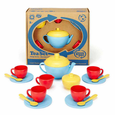 Green Toys Tea Set - Blue