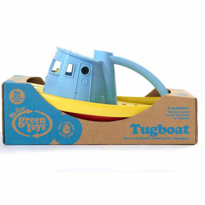 Green Toys Tug Boat Blue