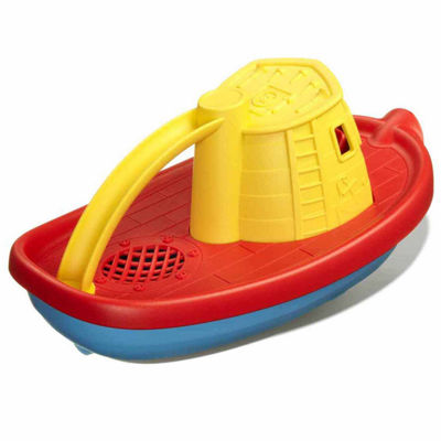 Green Toys Tug Boat Yellow