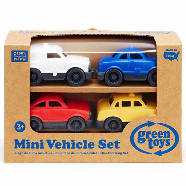 Green Toys Mini Vehicle 4 Pack  Accessory