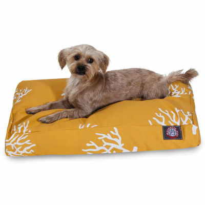 Majestic Pet Coral Rectangle Dog Bed