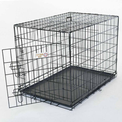 "48"" Majestic Pet Folding Crate"