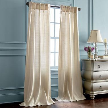 jcpenney.com | Royal Velvet® Supreme Pinch-Pleat/Back-Tab Window Treatments