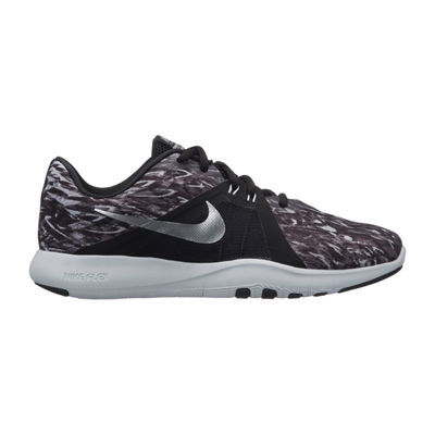 Nike Flex Trainer 8 Print Womens Training Shoes Lace-up